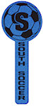 15 inch Soccer Ball Cheerstick